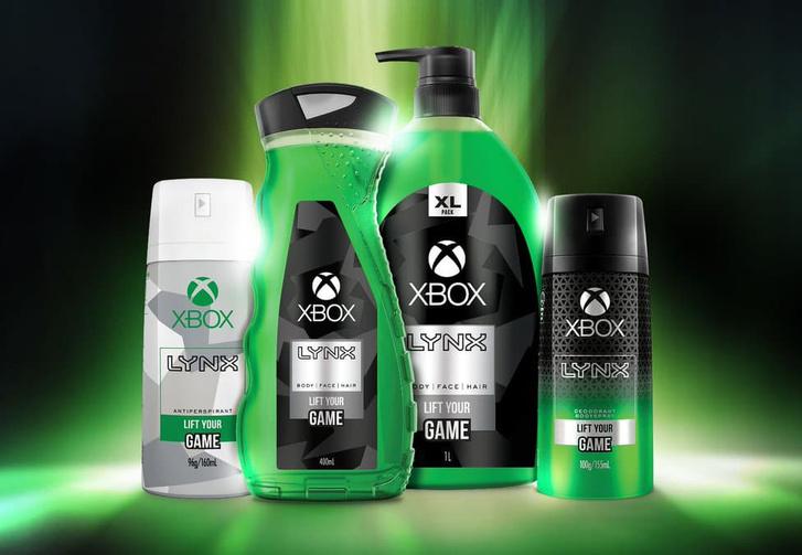 Фото №1 - Microsoft и Axe анонсировали мужскую косметику с запахом Xbox