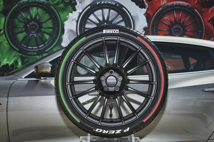 Фото №1 - Итальянский триколор на шинах Pirelli