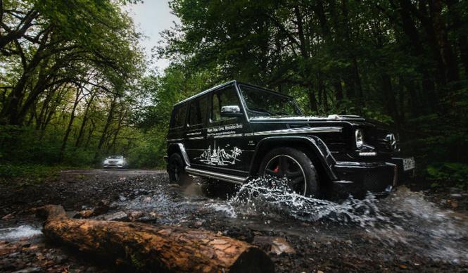 Однодневные туристические программы по региону Сочи за  рулем «Mercedes-Benz»