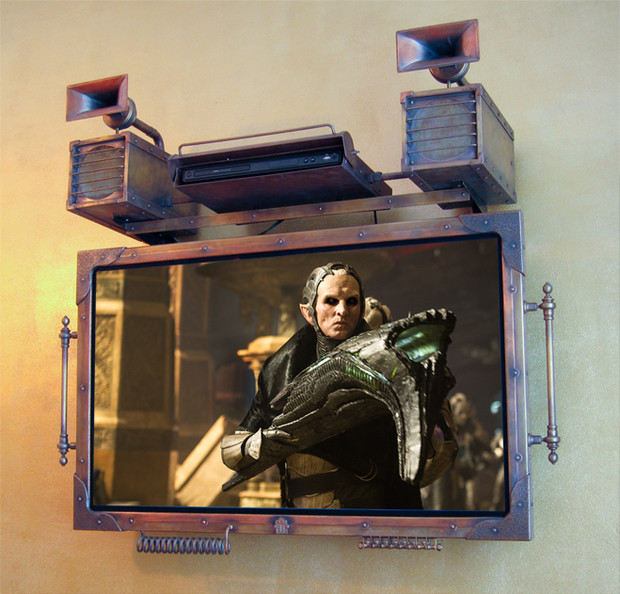 Фото №1 - Стимпанковский телевизор, USB-бритва и еще 3 гаджета месяца
