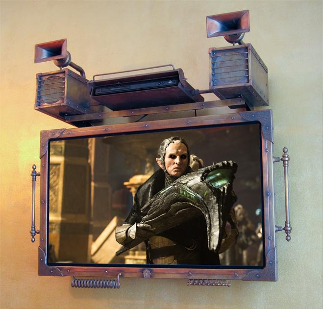 Стимпанковский телевизор, USB-бритва и еще 3 гаджета месяца
