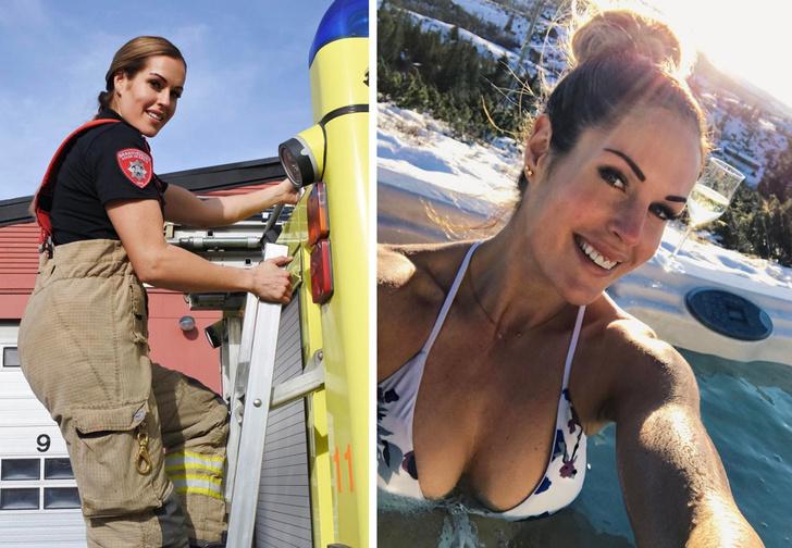 Фото №1 - Огненно-горячий «Инстаграм» норвежской девушки-пожарного