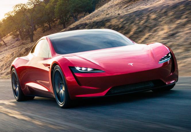 Tesla показала самый динамичный автомобиль вмире