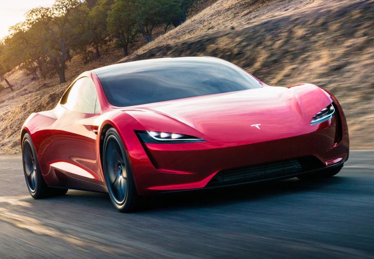 Фото №1 - Tesla представила новый спорткар, и он слишком быстр для этой планеты