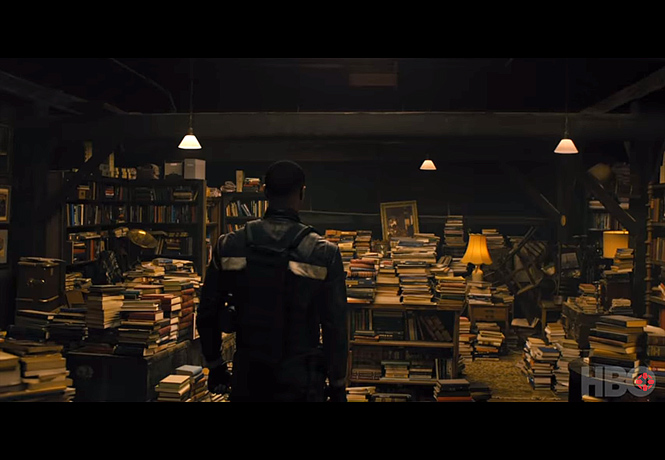 Фото №1 - Трейлер сериала «451 градус по Фаренгейту». Автор жжот!