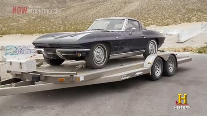 1963 split window Corvette Sting Ray