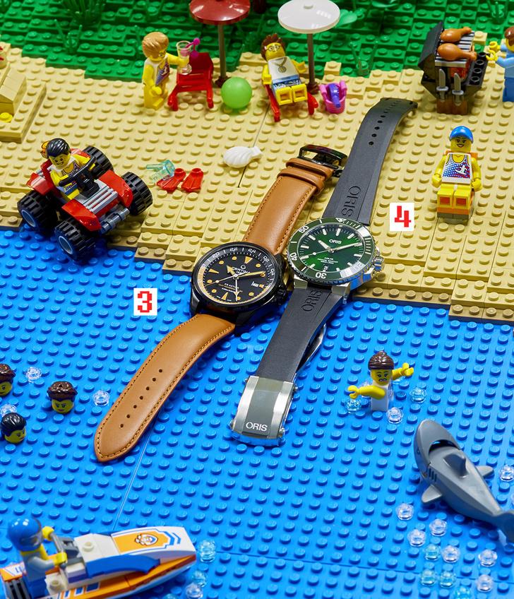 Фото №2 - Под уровнем моря: четыре модели водонепроницаемых часов