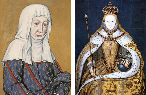 Изабелла Валуа и Елизавета I