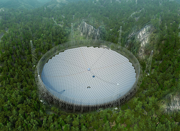 Модель, позволяющая представить готовый телескоп
