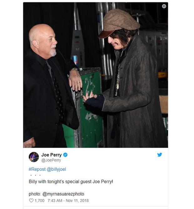 Фото №2 - Гитарист Aerosmith потерял сознание в гримерке и был госпитализирован