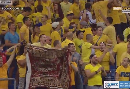 Как простой ковер стал талисманом футбольного клуба «Ростов» (быль с фото и видео)
