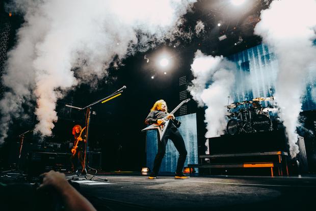 Фото №17 - Megadeth подняли температуру в Москве — посмотри и приобщись!