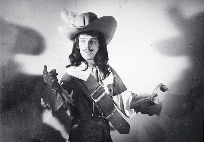 Александр Абдулов во время проб на роль д'Артаньяна
