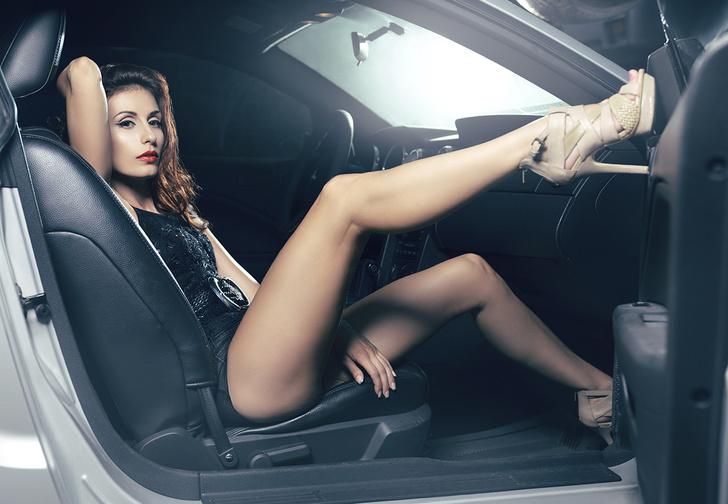 Фото №1 - Исчерпывающие данные о сексе в машине