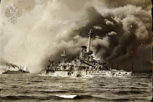 Фото №3 - Российские броненосцы против британских рыбаков, крейсера «Аврора» и невидимых миноносцев