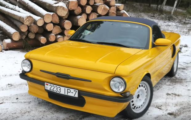 Фото №3 - Кастомайзер из Белоруссии «скрестил» Porsche и «Запорожец» (видео)
