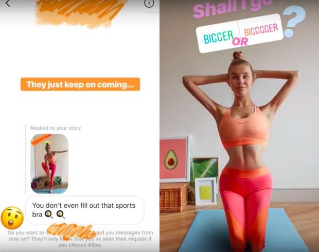 Фото №3 - Англичанка решила изменить свое тело, следуя критике подписчиков ее Instagram (ВИДЕО)