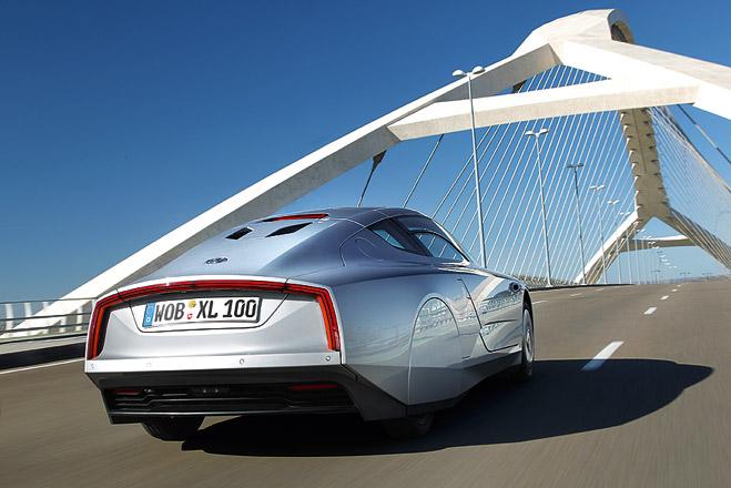 Фото №3 - Представлен Volkswagen, который расходует меньше литра бензина на 100 км
