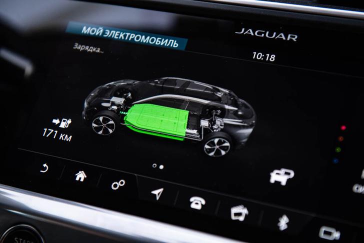 Фото №3 - Электричкой из Москвы до Питера на чистой энергии Jaguar I-Pace