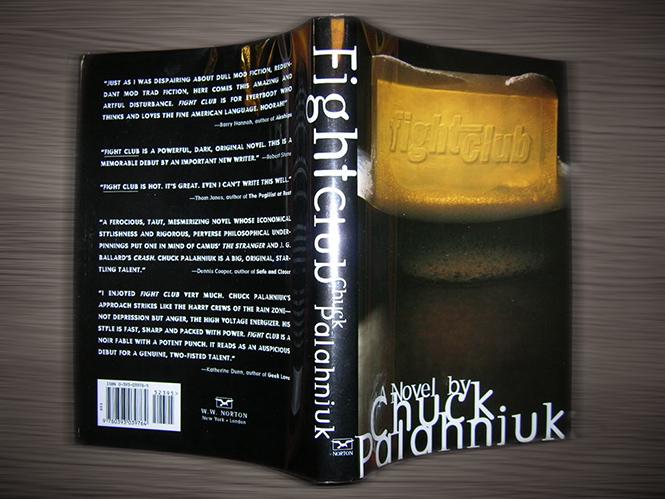 Самое первое издание книги «Бойцовский клуб» — 1996 года