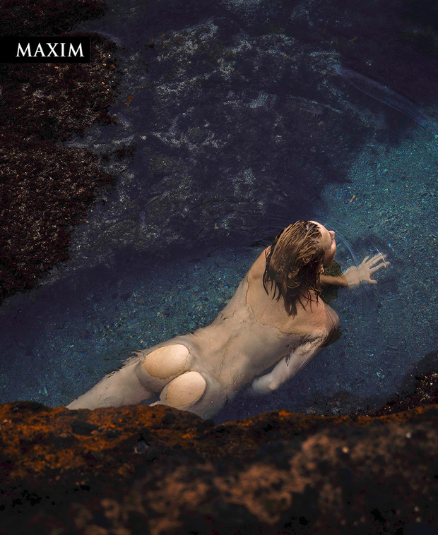 Фото №3 - Как на вулкане! Актриса Елена Чернявская в фотосессии MAXIM