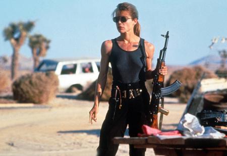 Линда Хэмилтон снова стала Сарой Коннор! Первые ФОТО со съемок «Терминатора 6»!