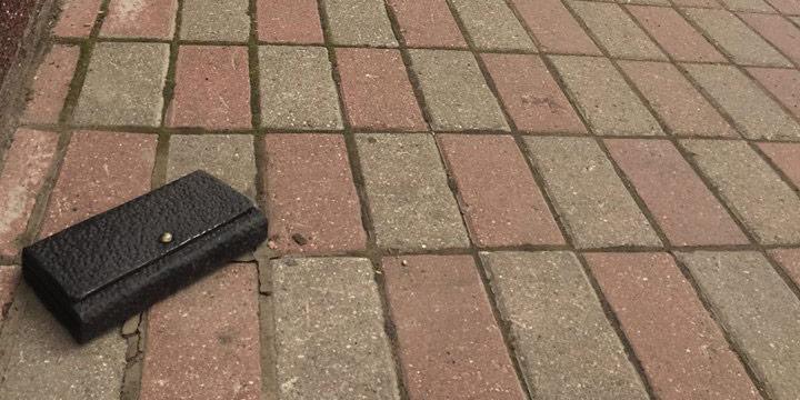 Фото №1 - В Ярославле установлен памятник Потерянному Бумажнику, и его практически невозможно украсть!