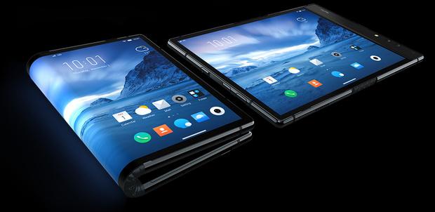 Фото №1 - Компания Royole представила смартфон с гибким экраном, который дороже iPhone