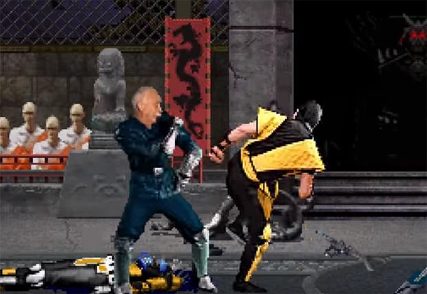 Фото №1 - Леонид Якубович избивает противников в игре Mortal Kombat (видео)