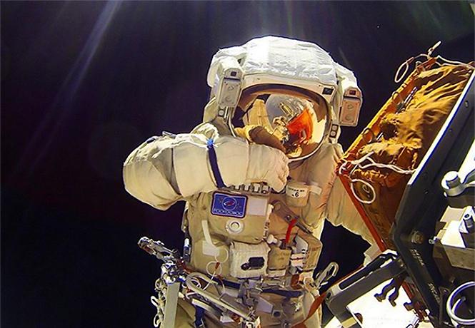 Фото №1 - Четкий взгляд на мир глазами космонавта