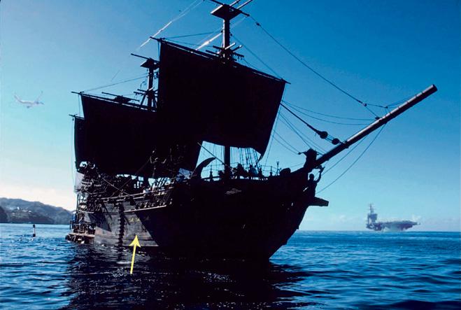 Пираты Карибского моря - ляп