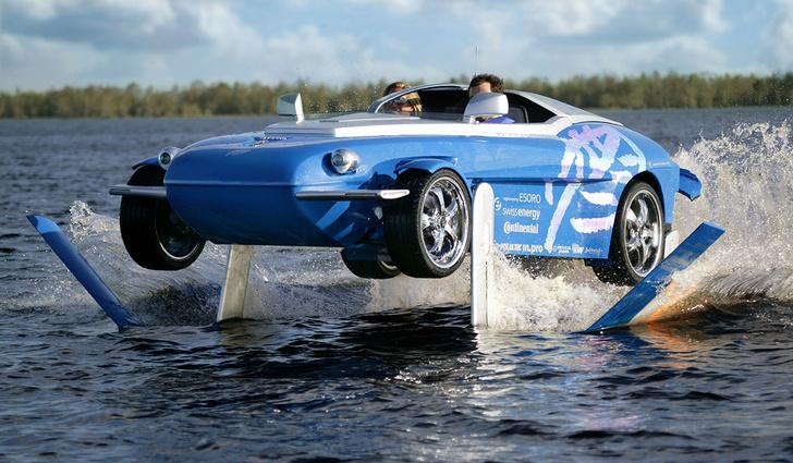 Фото №5 - И поехать, и поплыть: самые странные и успешные попытки создать «лодкомобиль»