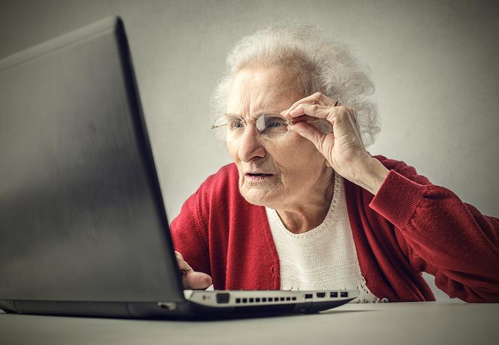 Фото №1 - Пенсионерка впервые увидела гифку, перепугалась и попросила о помощи