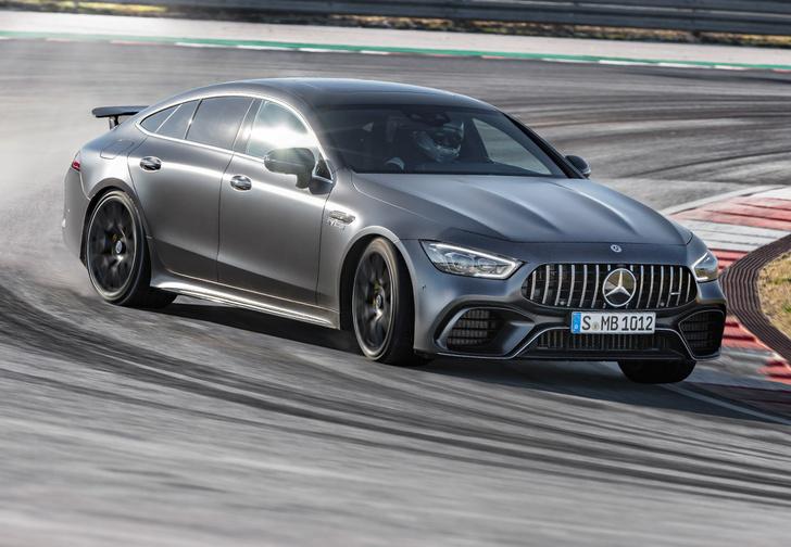 Фото №1 - Mercedes-AMG представляет ошеломительно быстрый гран-туризмо GT 4‑Door Coupe