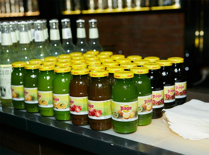 Освежающие соки Pago