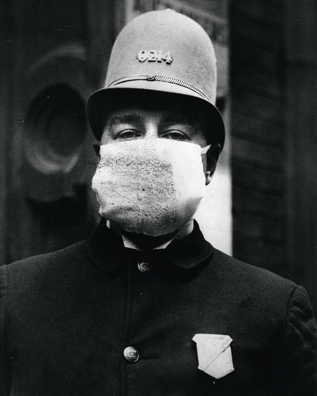 Американский полицейский. 1918 год