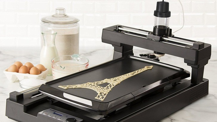 Фото №1 - Американская компания продает принтер для блинов