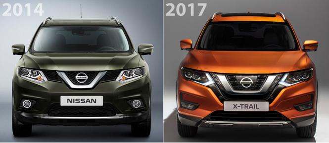 Главные фишки обновленного Nissan X-Trail