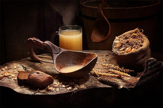 как приготовить квас из хлеба кусковыми дрожжами