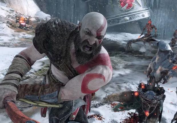 Фото №2 - Татуировка, борода и топор: почему все говорят о новой God of War