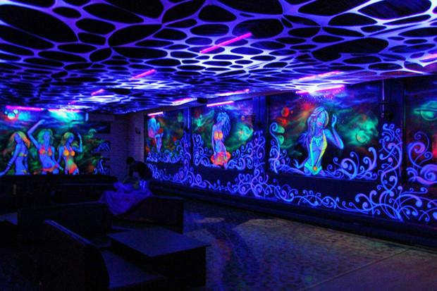 Флуоресцентная роспись