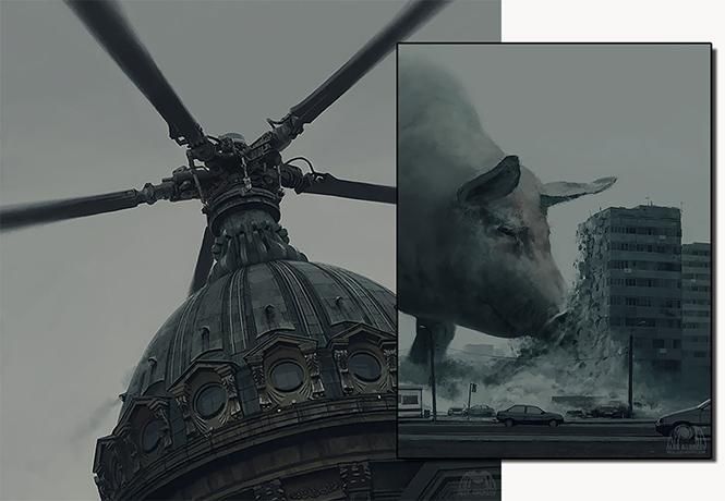 Фото №1 - Художник недели: повелитель жути Алексей Андреев
