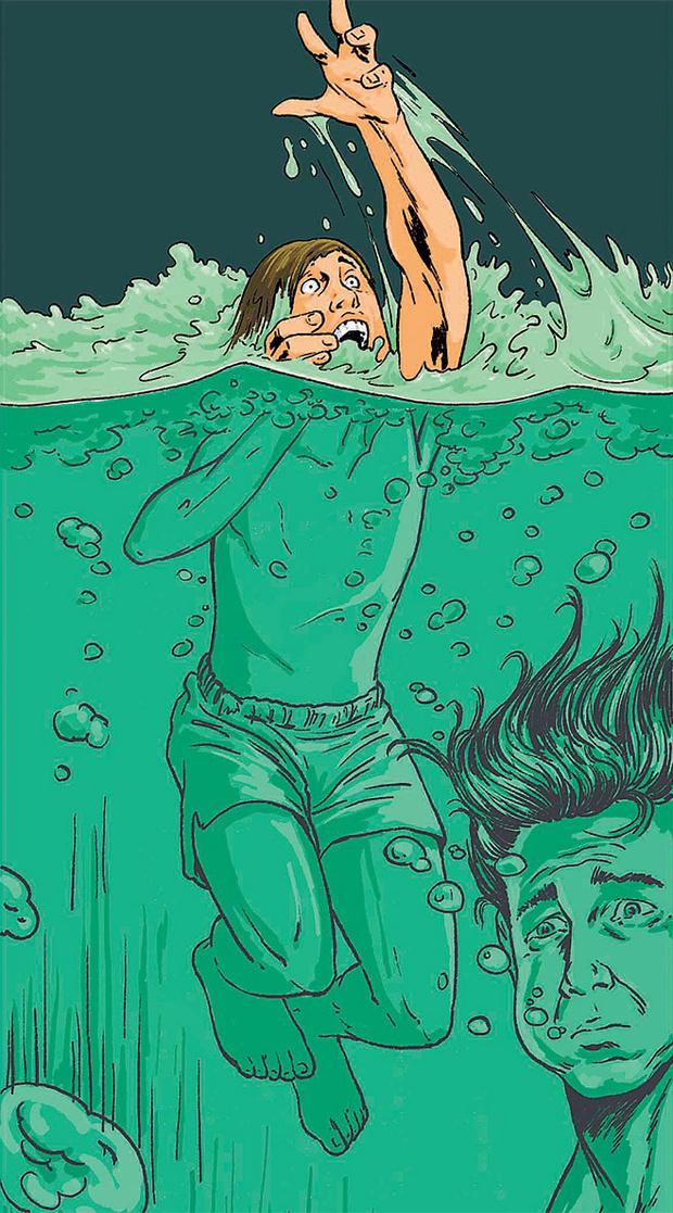 Плавание в соплях
