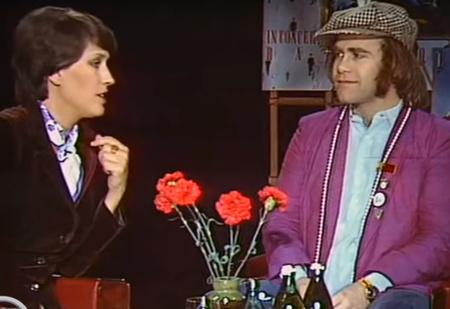 Интервью с Элтоном Джоном на советском телевидении в 1979 году (видео)