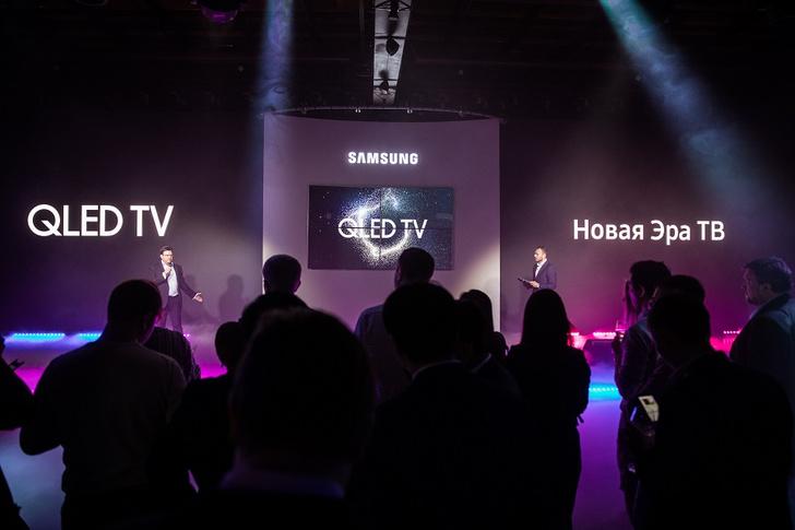 Фото №1 - Звезды рассказали звездам о новых телевизорах QLED ТВ Samsung