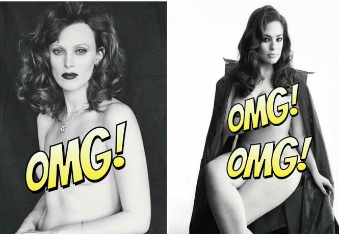 Обнаженные модели в беспрецедентной фотосессии журнала Love Magazine