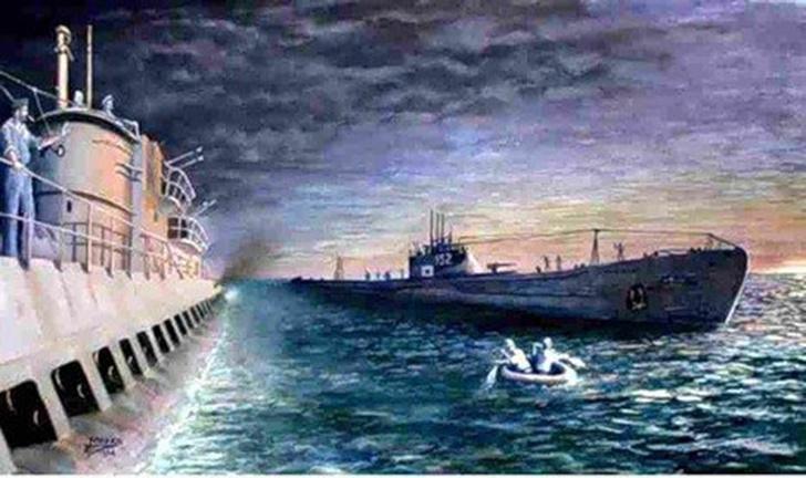 Фото №1 - Золотая подлодка: история Особой Императорской субмарины I-52