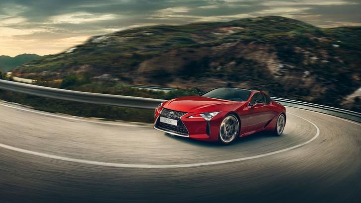 Фото №1 - Гостеприимный Lexus LC 500 уже в продаже!