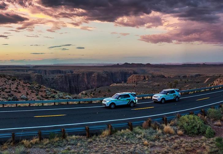 Фото №2 - Экспедиция «Вокруг света за 70 дней с Land Rover» финишировала в Москве