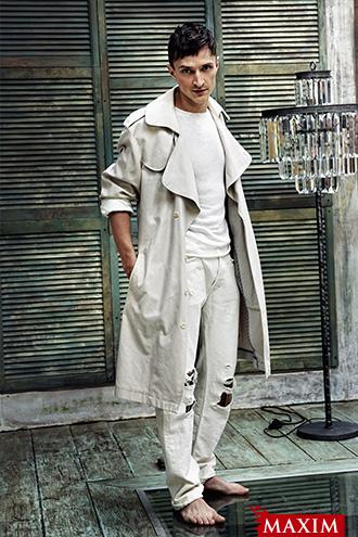Фото №4 - Актер Юрий Чурсин: «Минус тридцать семь, я захожу в маленький магазин и начинаю выбирать тушь... Видел бы ты лица продавщиц!»